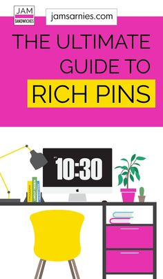 The ultimate guide on how to use rich pins for your WordPress site. Once you've set up your Pinterest business account, enabling rich pins is the next action you should take if you want to rock your Pinterest account. Click to find out everything you need