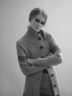 Photo: Siren Lauvdal, styling: Pauline Nærholm Amelia Earhart, Losing A Child, Jean Paul Gaultier, Turtle Neck, Coat, Sweaters, Collection, Women, Style
