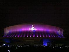 <3 New Orleans Saints Superdome