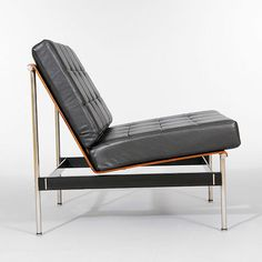 Kho Liang Le for Artifort, Rosewood and Leather Chair