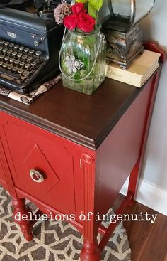 me myself and buffet a neurotic makeover, painted furniture