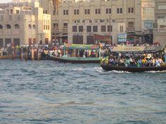 Dubai Creek water taxi