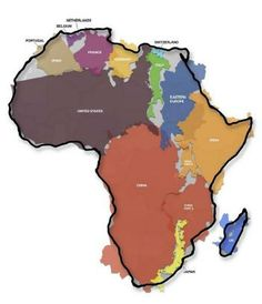 How big is Africa?
