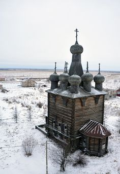 Rikasovo (Zaostrovye) - a village near Arkhangelsk Russian Architecture, Church Architecture, Ukraine, Doll House Crafts, Medieval Houses, Russian Orthodox, Cathedral Church, World Images, Christian Church