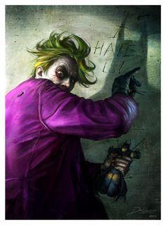 The Joker  Created by Alberto Dal Lago