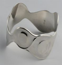 A georg jensen silver bangle model Wallis, Silver Bangles, Model, Design, Scale Model, Models, Template