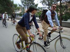 Tweed Riders by avantum, via Flickr