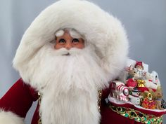 Spirit of Christmas Santa by DianesHeirloomSantas on Etsy