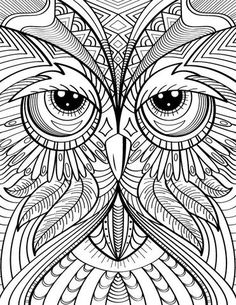 Paper Embroidery Patterns Owl Coloring Page - Coloring Pages For Grown Ups, Horse Coloring Pages, Pattern Coloring Pages, Adult Coloring Book Pages, Fairy Coloring, Colouring Pics, Flower Coloring Pages, Coloring Pages To Print, Coloring Books