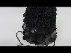 Büzgülü pullu çanta yapımı - YouTube Crochet Baby Blanket Free Pattern, Crochet Handbags, Crochet Bags, Beaded Bags, Purse Patterns, Clutch Bag, Purses And Bags, Knit Crochet, Crochet Necklace