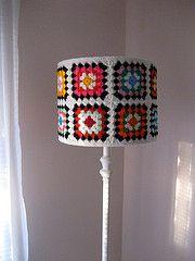 crochet lamp