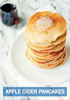 ... flavors of fall? These Apple Cider Pancakes are sure to do the trick