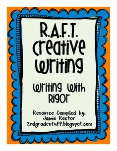 Have you heard of R. It is an awesome way to engage students in creative writing experiences across the content areas. Did I menti. Work On Writing, Writing Words, Cool Writing, Writing Strategies, Writing Lessons, Writing Resources, Primary Teaching, Teaching Writing, Creative Writing Ideas