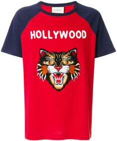 027a493f648 Gucci Hollywood Angry Cat T-shirt