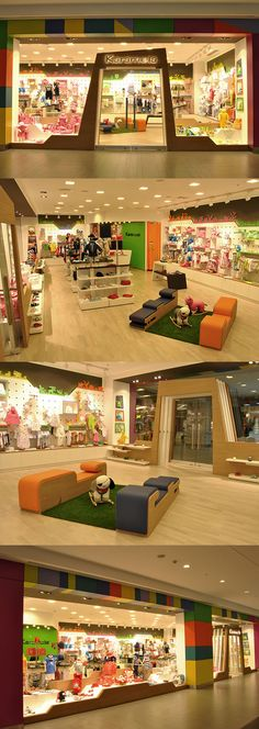 Karamela children clothing store by OSO Architects, Istanbul.
