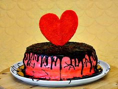 "Cake ""Big Heart"" by Ludmila Petrovskaja."