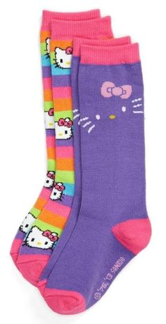 Meow! Hello Kitty Socks