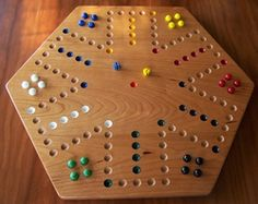 How to make an aggravation board game a do it yourself project for cherry wood aggravation game board 6 player side with marbles solutioingenieria Gallery