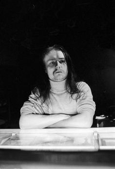 Euronymous, Mayhem. No paint, no props, no pose... still black metal as fuck. \m/