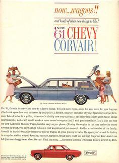 Corvair Lakewood wagon.