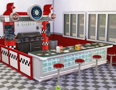 The Sims 4 | ATS4 2t4 Food Stands | build buy mode new objects dining community lot