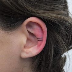 Tattoos are not a new trend by any means, but this ear art is the newest take on tattoos that we're falling hard for.