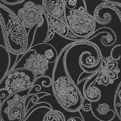 Stunning dots blacks designer wallcovering by York. Item DE9003. Lowest prices and free shipping on York wallpaper. Search thousands of patterns. Width 20.5 inches. Swatches available.