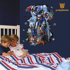 Transformers wall decal Children Boys room by SuperStoreRetail