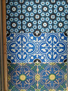 Moroccan Hand made Encaustic Cement Tiles Spain France | eBay