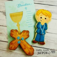 First Communion Cookies | Jill FCS