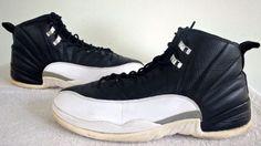 2011 Nike Air Jordan 12 Retro XII Black/White Men's Playoffs SZ 11 [130690-001]  #Nike #130690001