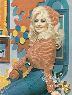 Dolly Parton circa 1977