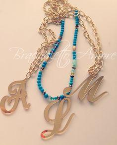 #Necklace #BraccialettoAmoreAccesorios #Fashion #Iniciales #Facebook