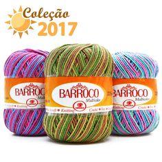 Barbante Barroco Multicolor 200g - Cores 2016 - Bazar Horizonte