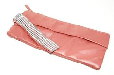Vintage Giannini Pink Pearlized Leather by VintageMeetModern, $24.00