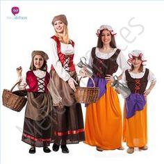 #Disfraces de #Carnaval de Mujer #Medieval para grupos #mercadisfraces tienda de #disfraces online, #disfraces #originales y baratos para tus fiestas de #carnaval o #halloween