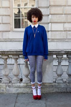 coggles It Can Be Done: 7 Ways To Pull Off Socks and Heels This Winter
