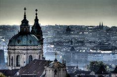 View of Prague from the castle. Vista de Praga desde el castillo   Flickr - Photo Sharing!