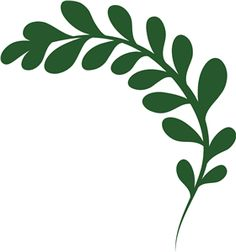Silhouette Design Store - View Design #26630: leaf flourish