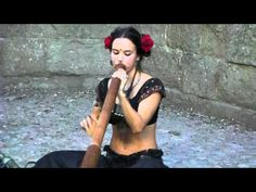 VIDEO- a young woman in France playing the didgeridoo. the ending is pretty cool.