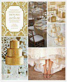 Gold Wedding Theme Ideas | http://simpleweddingstuff.blogspot.com/2014/05/gold-wedding-theme-ideas.html