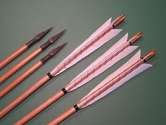 Reproduction English Longbow Arrows                                                                                                                                                      More