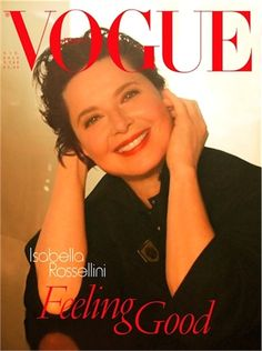 Isabella Rossellini photographed by Steven Meisel for Vogue Italia, June 2012