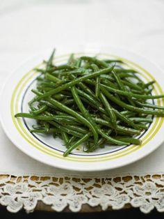 lemony green beans   Jamie Oliver   Food   Jamie Oliver (UK)    a simple side of green