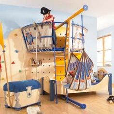 Get inspired with kids bedroom, kids' playroom ideas and photos for your home refresh or remodel. Wayfair offers thousands of design ideas for every room in every style. Pirate Bedroom, Kids Bedroom, Kids Rooms, Nautical Bedroom, Baby Bedroom, Nautical Theme, Kids Room Design, Design Bedroom, Nursery Design
