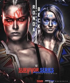 What happens when an unstoppable force and an unmovable object collide? Find out at Thank you… Wwe Events, Wwe Survivor Series, Wwe 2k, Wwe Pay Per View, Royal Rumble, Becky Lynch, Women's Wrestling, Ronda Rousey, Wwe Divas