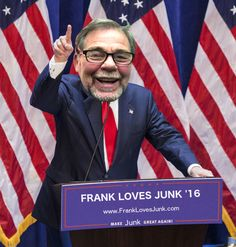 A Most Junkalicious Candidate Emerges!  FrankLovesJunk.com  (203) 556-9913  Fairfield, CT Junk Removal Company
