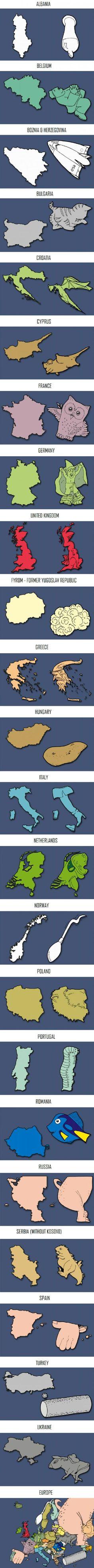 Creative Countries of Europe