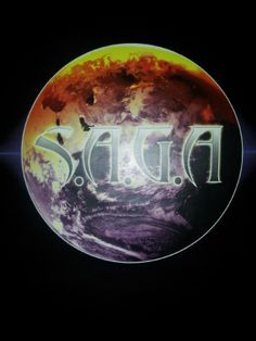 The Official S.A.G.A. Trademark Brand Logo of the emerging New Multi-Media BRAND.