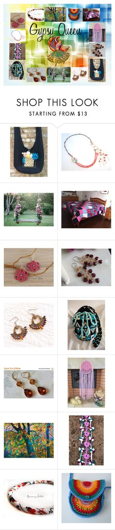 """Gypsy Queen: Handmade Boho Gifts"" by paulinemcewen ❤ liked on Polyvore featuring Expresso"
